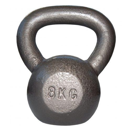 Capetan® Sport Oracle kettlebell – zvonasti uteg – girje  8 kg s čekić emajl bojom
