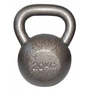 Capetan® Sport Oracle kettlebell – zvonasti uteg – girje  20 kg s čekić emajl bojom