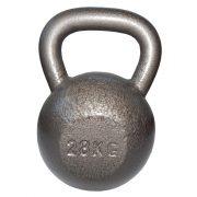 Capetan® Sport Oracle kettlebell – zvonasti uteg – girje  28 kg s čekić emajl bojom