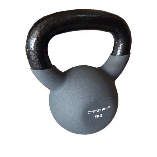 Capetan® Sport Professional Line kettlebell-zvonasti uteg neoprenski obloženi uteg 8Kg