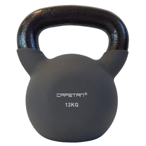 Capetan® Sport Professional Line kettlebell-zvonasti uteg neoprenski obloženi uteg 12Kg