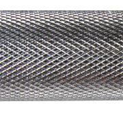 Capetan® 35,5 cm x 30 mm promjer kromirana jednoručna šipka za bučicu - jednoručna šipka  s navojnim prstenima