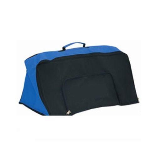 Za Komplet mini prepona (s elementima visine 6 x23 cm) posebna sportska torba za prijevoz i pohranu s bočnim pretincem sa patent zatvaračem s dva odvojena pretinca za sportsku opremu