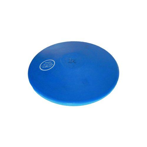 Tactic Sport gumeni trening disk 1kg, plave boje,  ne ostavlja tamni trag na podu