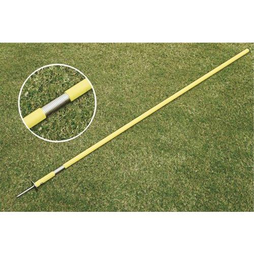 Set slalomskih šipki 12 komada fleksibilni 160cm, promjera 2.5cm, s metalnim vhovima  8mm, u  torbi